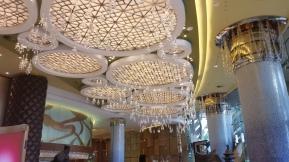 lobby of Grand Lisboa hotel