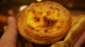 The famous egg tart